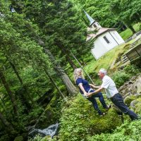 Shooting photo d'engagement en Alsace